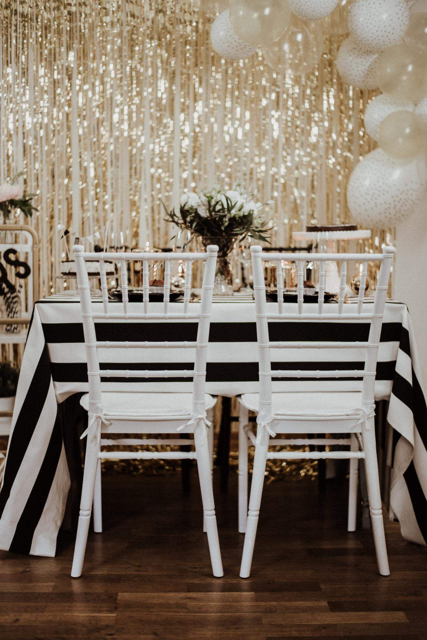 goldene 20er jahre party gatsby sweet table. Black Bedroom Furniture Sets. Home Design Ideas